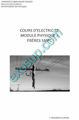 Polycopié de cours d'électricité 1 smpc s2 fs tetouan