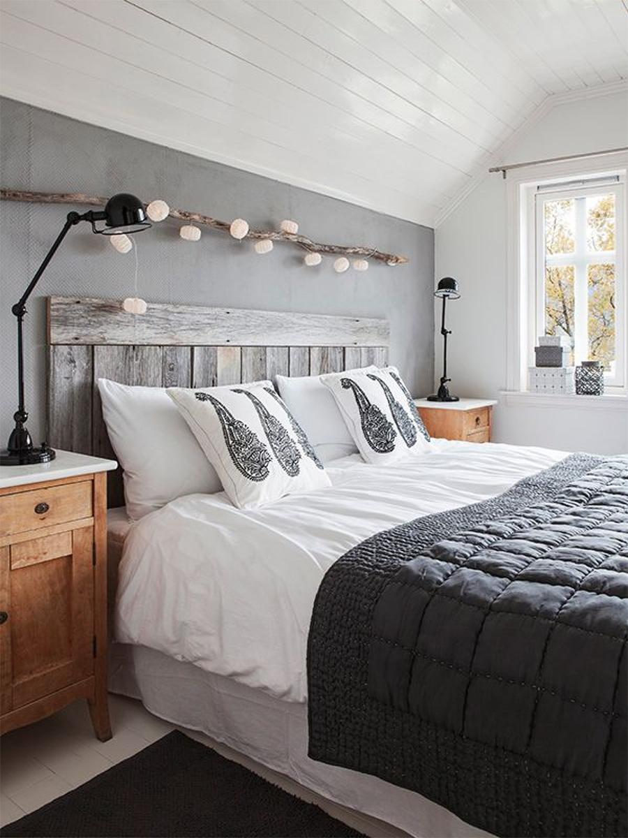 New Trendy Home Deco Dormitorios En Blanco Y Gris A Trendy  ~ Papel Pintado Dormitorio Blanco