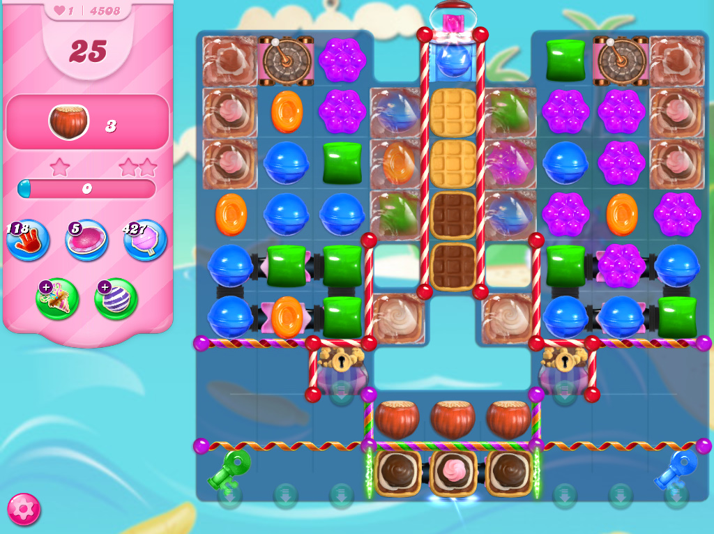 Candy Crush Saga level 4508