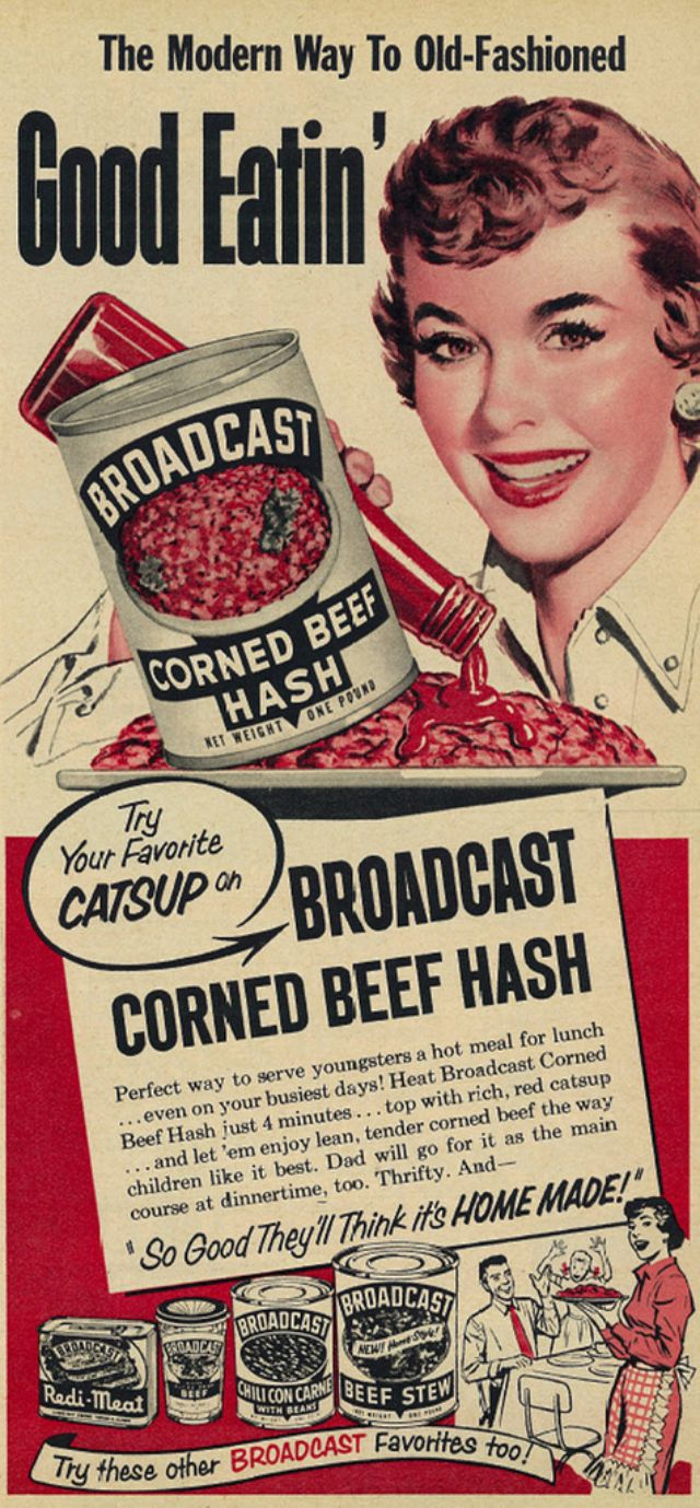 33 Bizarre And Totally Outrageous Vintage Food Ads That