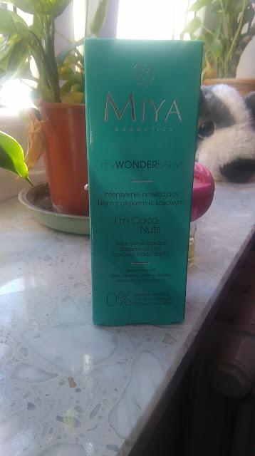 Miya Cosmetics -Krem do twarzy z olejkiem kokosowym