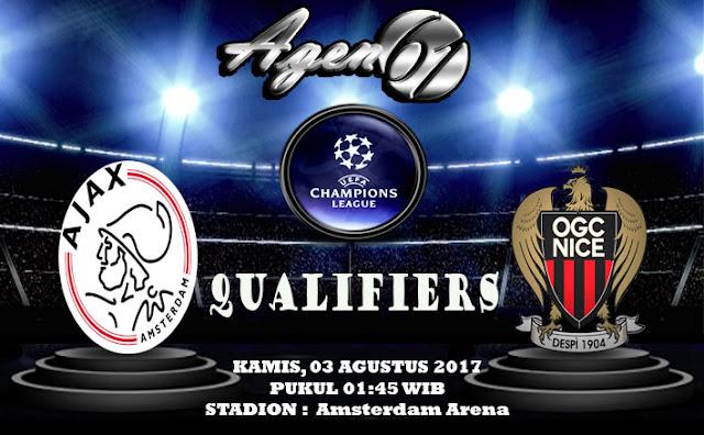 Prediksi Bola Ajax vs Nice 03 Agustus 2017