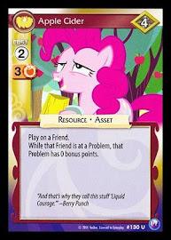 My Little Pony Apple Cider Canterlot Nights CCG Card