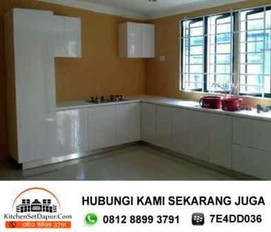 Tukang kitchen set ciputat pembuatan kitchen set for Harga bikin kitchen set