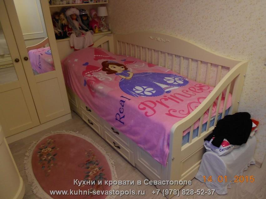 Купить двуспальную кровать Севастополь