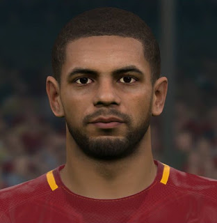 PES 2017 Faces Bruno Peres by Sameh Momen