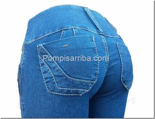 Pantalones en medrano jeans de mezclilla pantalones a la cintura para dama 2017