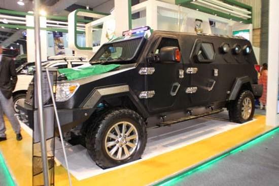 Made in Pakistan Bullet Proof Vehicle - UQAAB - Pakistan Hotline