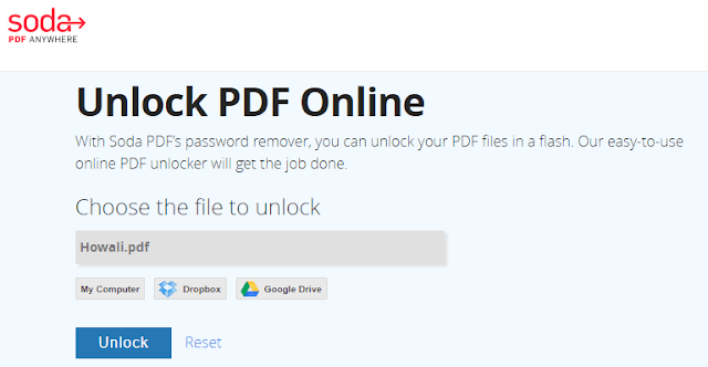 how to open secured pdf file