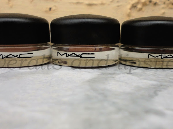 MAC Pro Longwear Paint Pots - Swatches