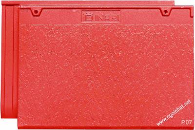 Ngói màu đỏ
