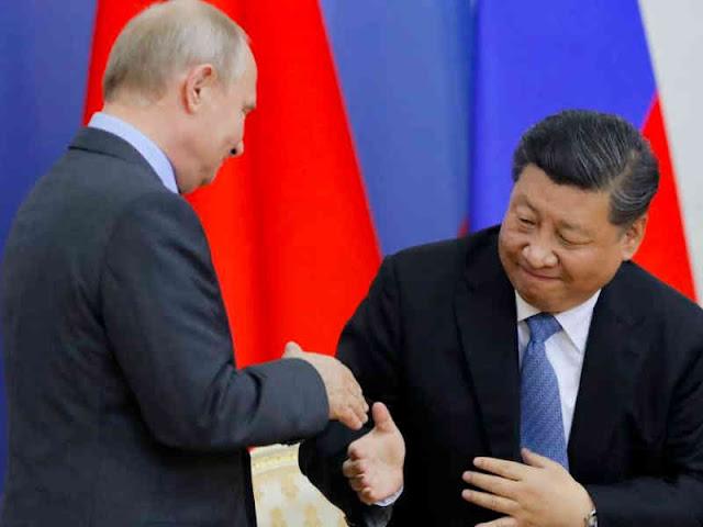 Vladimir Putin dan Xi Jinping Bahas Dukungan Politik ke Iran