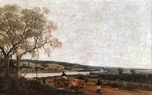 Carro de Boi ~ Frans Post - Holandês - Barroco Brasil Colonial
