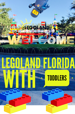Tips for Visiting Legoland Florida with Toddlers & Preschoolers + listing of all the play areas!