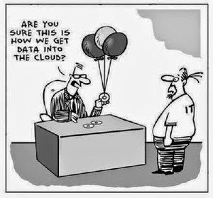 Humour IT: Data in the cloud
