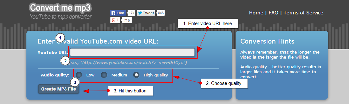 Download YouTube Videos Converted in MP3 HQ Format