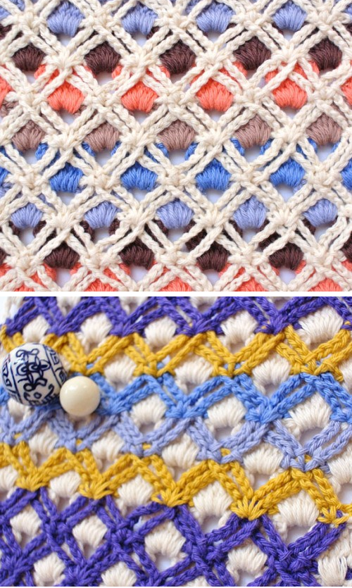 Crochet Layered Stitch - Free Pattern