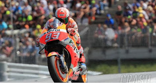 Hasil Kualifikasi MotoGP Austria 2018: Marquez
