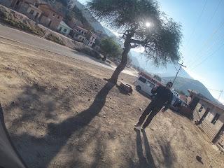 Procurando hotel em Comarapa / Bolívia.