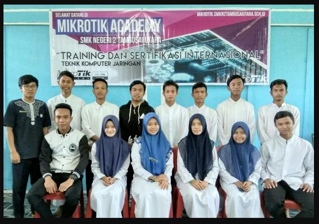 Peserta MTCNA Ujian MTCNA Perdana di MA SMK N 2 Tambusai Utara