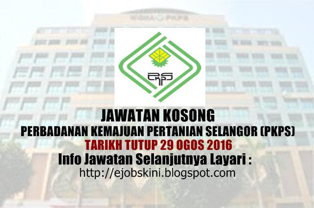 Jawatan kosong di pkps ogos 2016