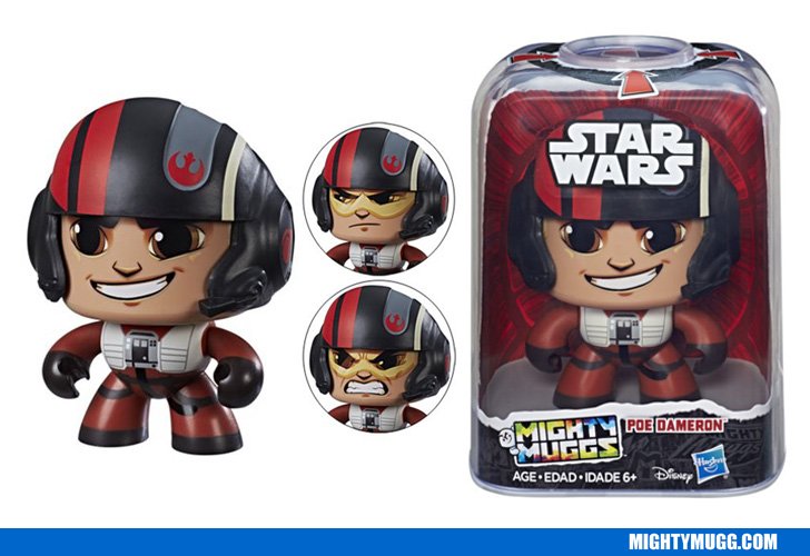 Poe Dameron Star Wars Mighty Muggs Wave 2 2018