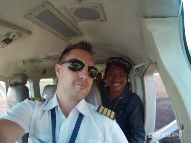 Pesawat Susi Air di Karimunjawa