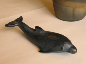 Dolphin bunchin paperweight only from GoodsFromJapan.