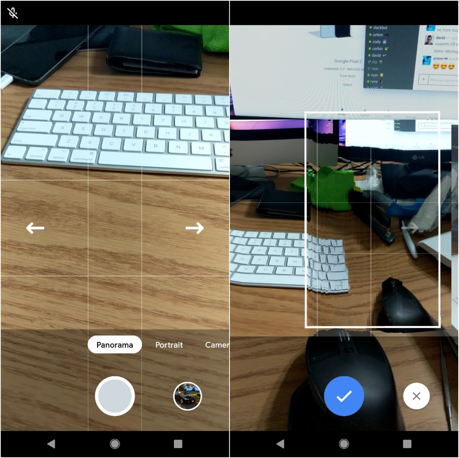 APK] Pixel 3's Google Camera Brings New UI, New Panorama Mode And