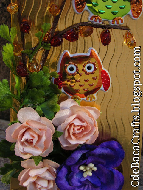 Handmade Card Ideas for Cute Cards made by CdeBaca Crafts Blogger.