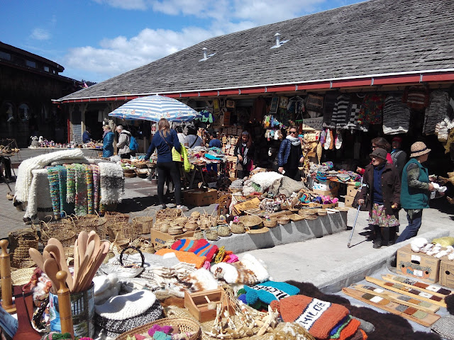 Feria arteasanal de Dalcahue, Isla Grande de Chiloé Chile