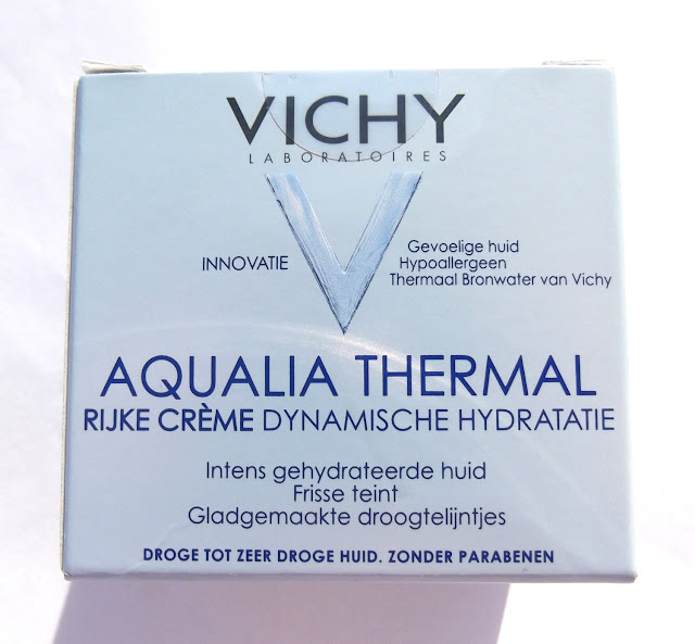 VICHY Aqualia Thermal Crème Riche Hydratation Dynamique/Swatches main