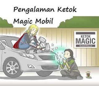 Pengalaman Ketok Magic