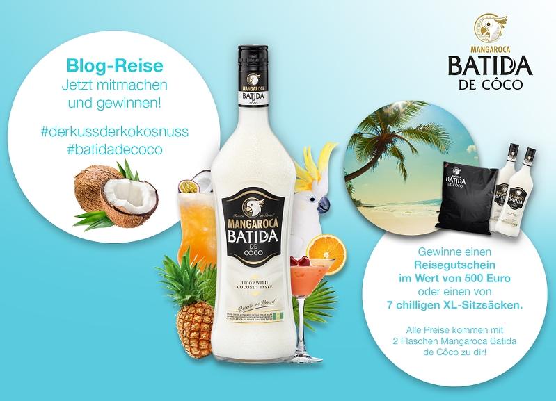 Mangaroca Batida de Coco Blogreise Gewinnspiel