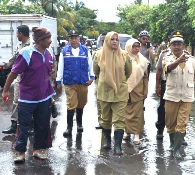 Pemkab Bima Salurkan Logistik Wilayah Terdampak Banjir