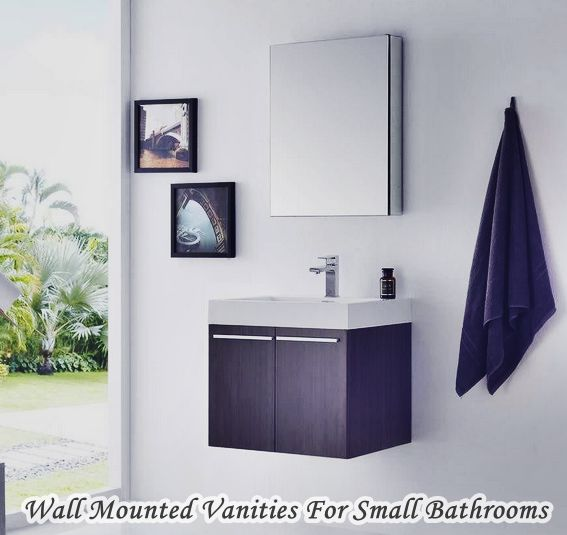 Elegance Wall Mounted Vanities For Small Bathrooms
