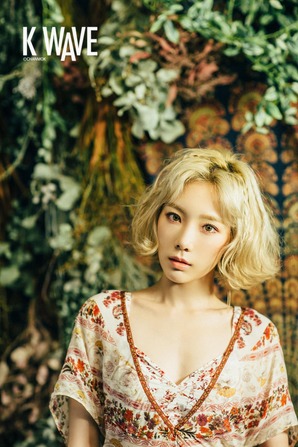 Snsd S Taeyeon For K Wave Magazine S March Issue Snsd
