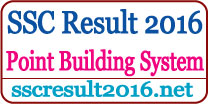 SSC Exam Result 2016 Point Building System