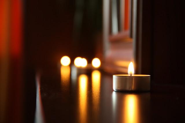lilin, cahaya,