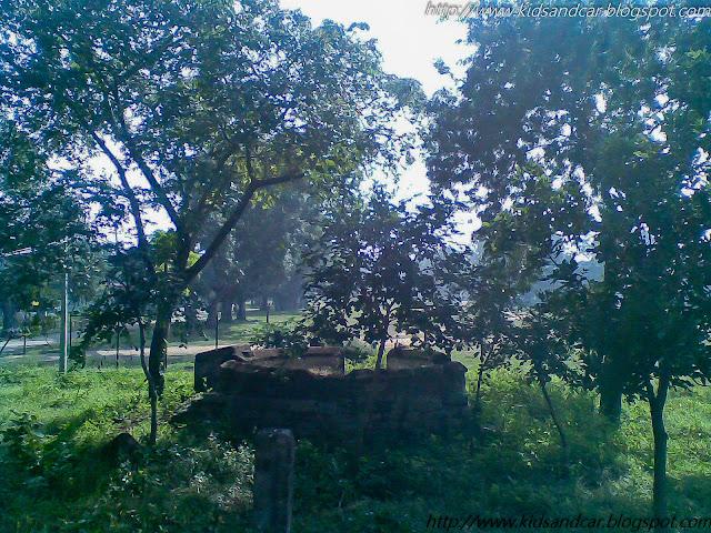 An old well in garden of Medak Church Telangana Tourist attraction