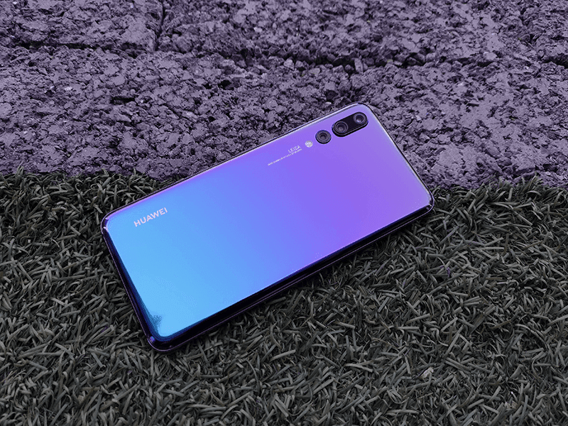 "How did the Huawei P20 Pro ""Gradient"" color come to be?"