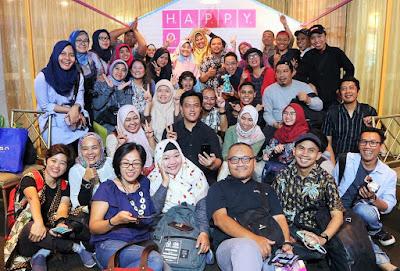 Komunitas Blogger Crony hadir dalam launching happyOne.id