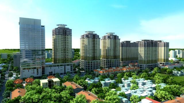 không gian sống đăng cấp tại chung cư số 1 Trần Thủ Độ