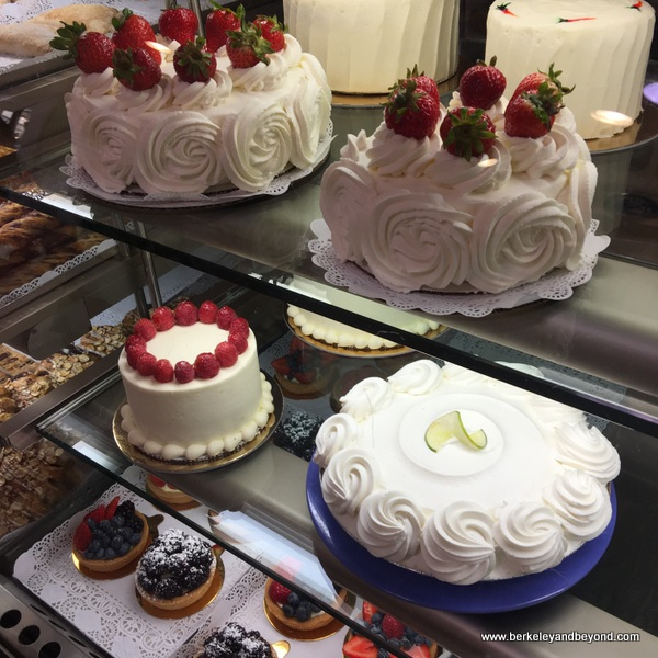 spectacular cakes at Gayle's Bakery in Capitola, California