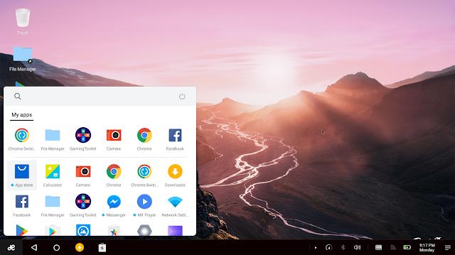 RemixOS - Tampilan mirip Windows 10