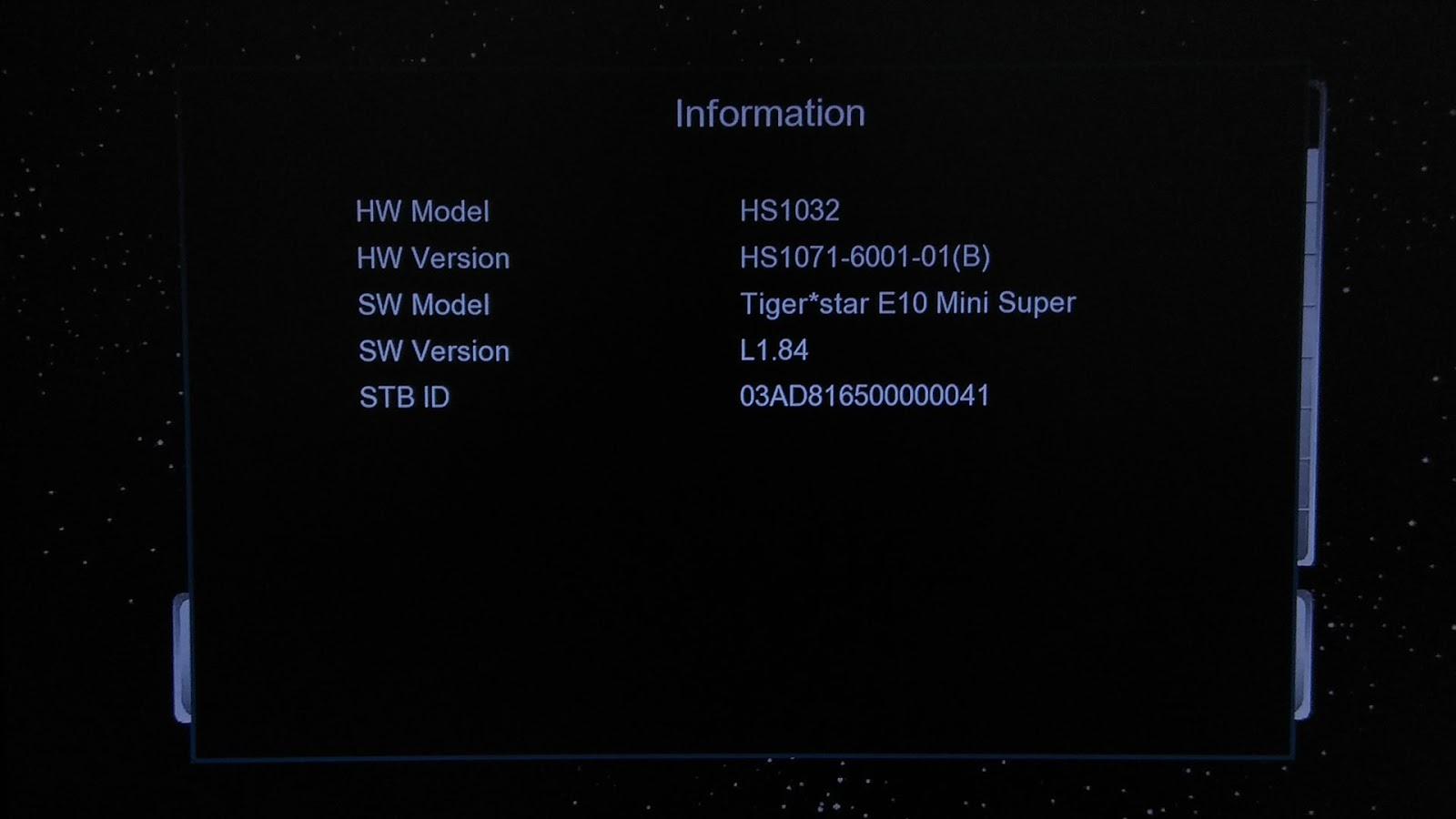Software Tiger Star E10 Mini Super New Firmware Update