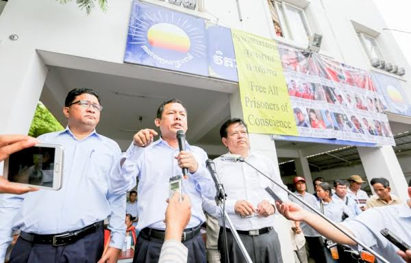 The CNRP is urging its members to be calm ahead of potential negotiations with the ruling party. KT/Chor Sokunthea