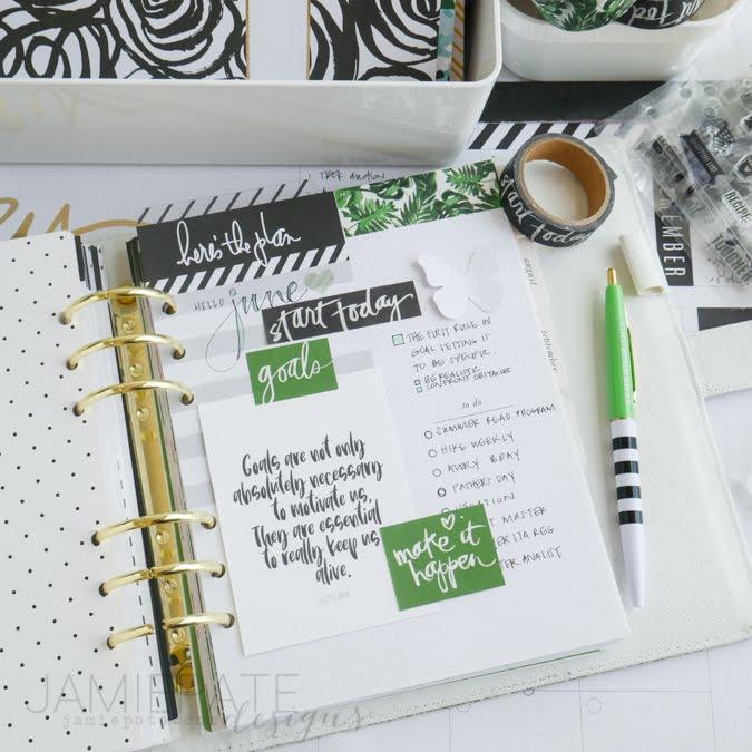 May Planner Recap by Jamie Pate | @jamiepate