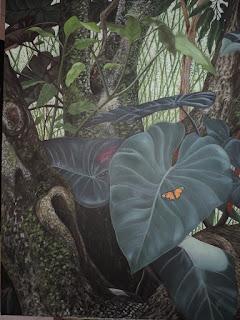 Monarca_Jorge_Marín_pintor_Colombiano_Paisajes