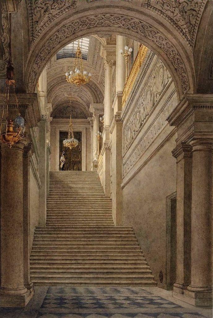 gods and foolish grandeur grand escalier dhonneur